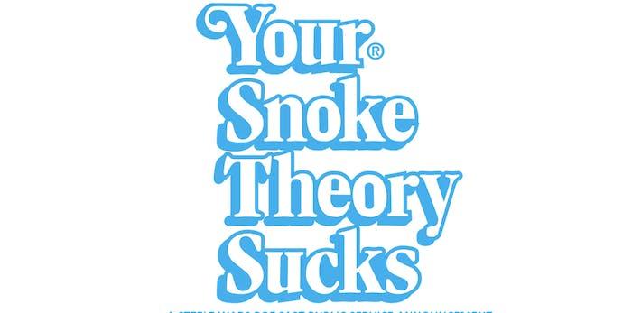 "Steele Wars custom ""Your Snoke Theory Sucks"" sticker"
