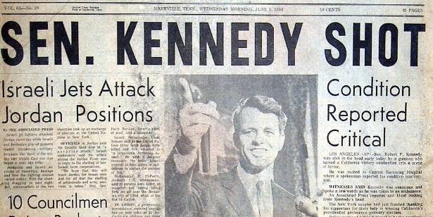 Neurosurgeons Reveal New Details About Robert F. Kennedy's Assassination