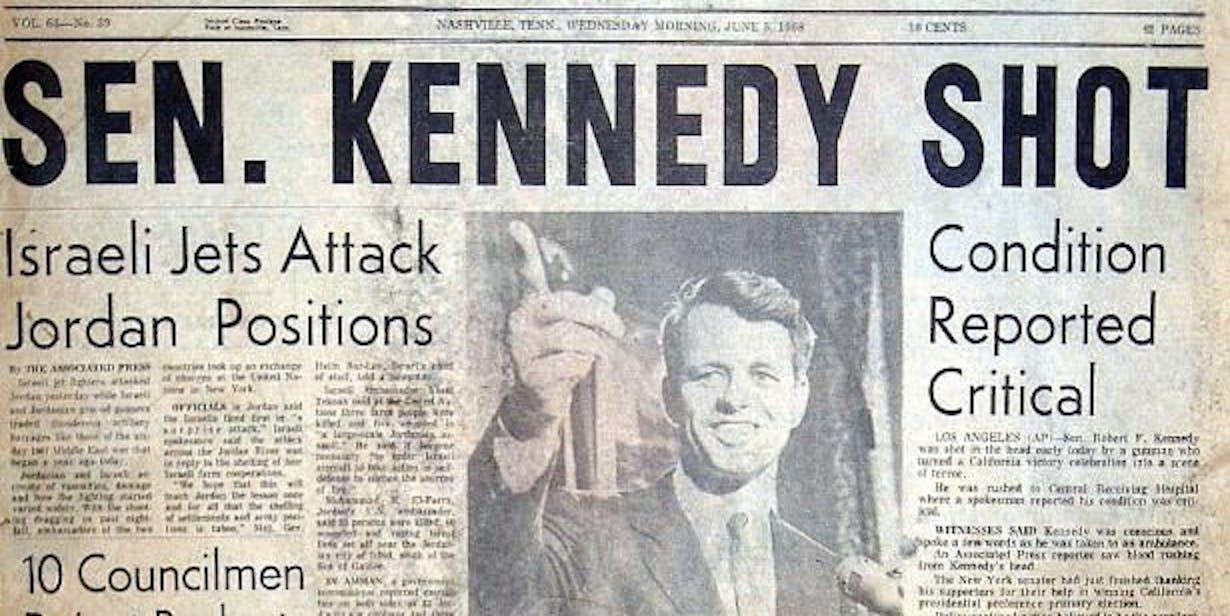 RFK assassination recreation