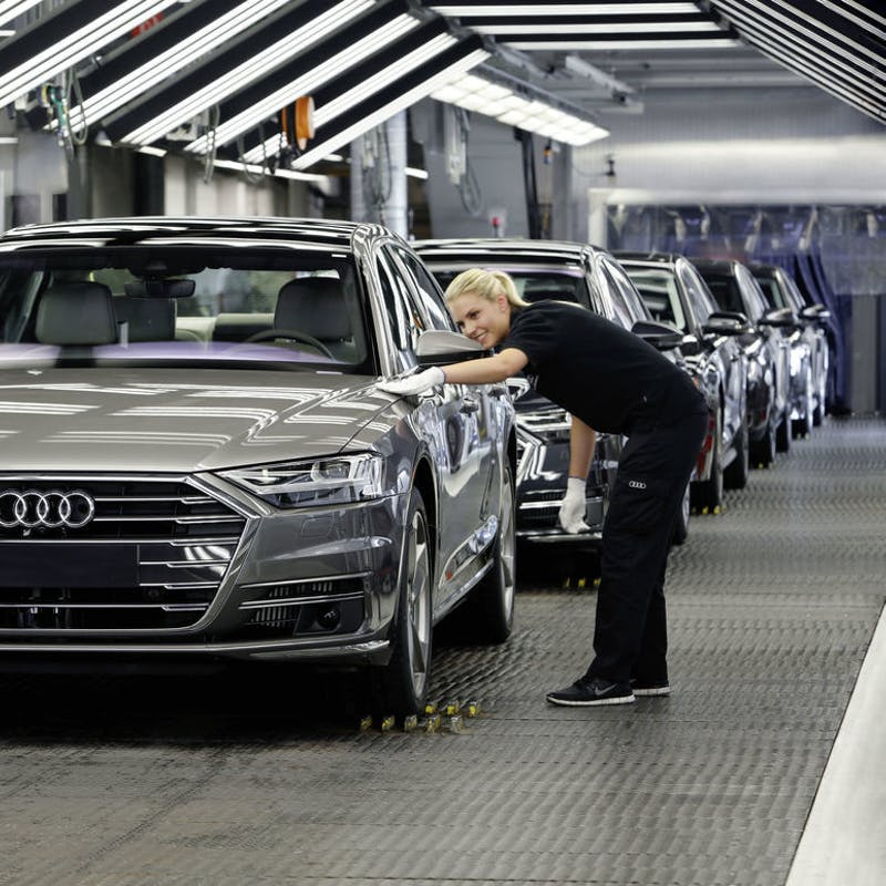 The Audi A Pilot Driving Feature Firmly Steps Into The Grey - Audi self parking