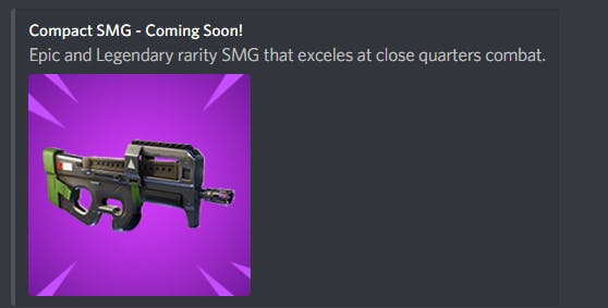 Fortnite Compact Smg P90 Stats Rarity Damage And Everything We