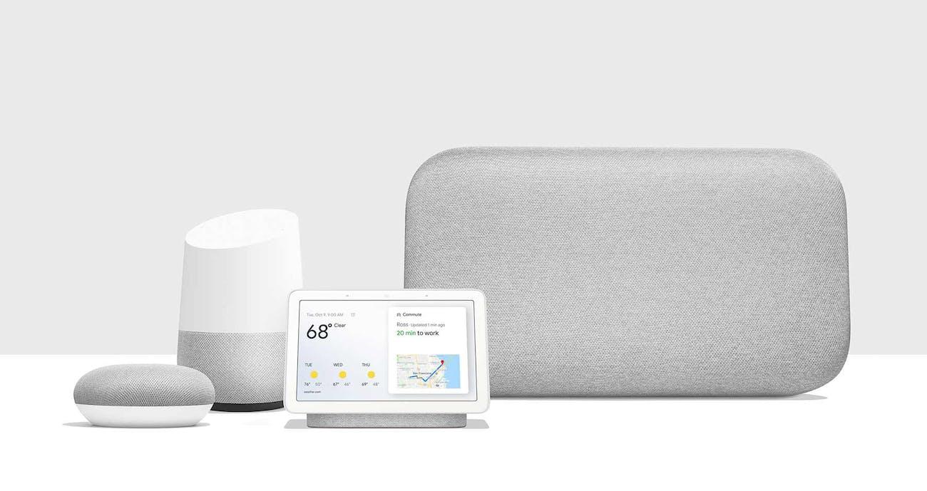 Google Home, Mini, Hub, Max, Smart Assistant Speakers