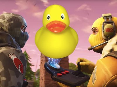 Rubber Duckies have invaded the 'Fortnite: Battle Royale' map.