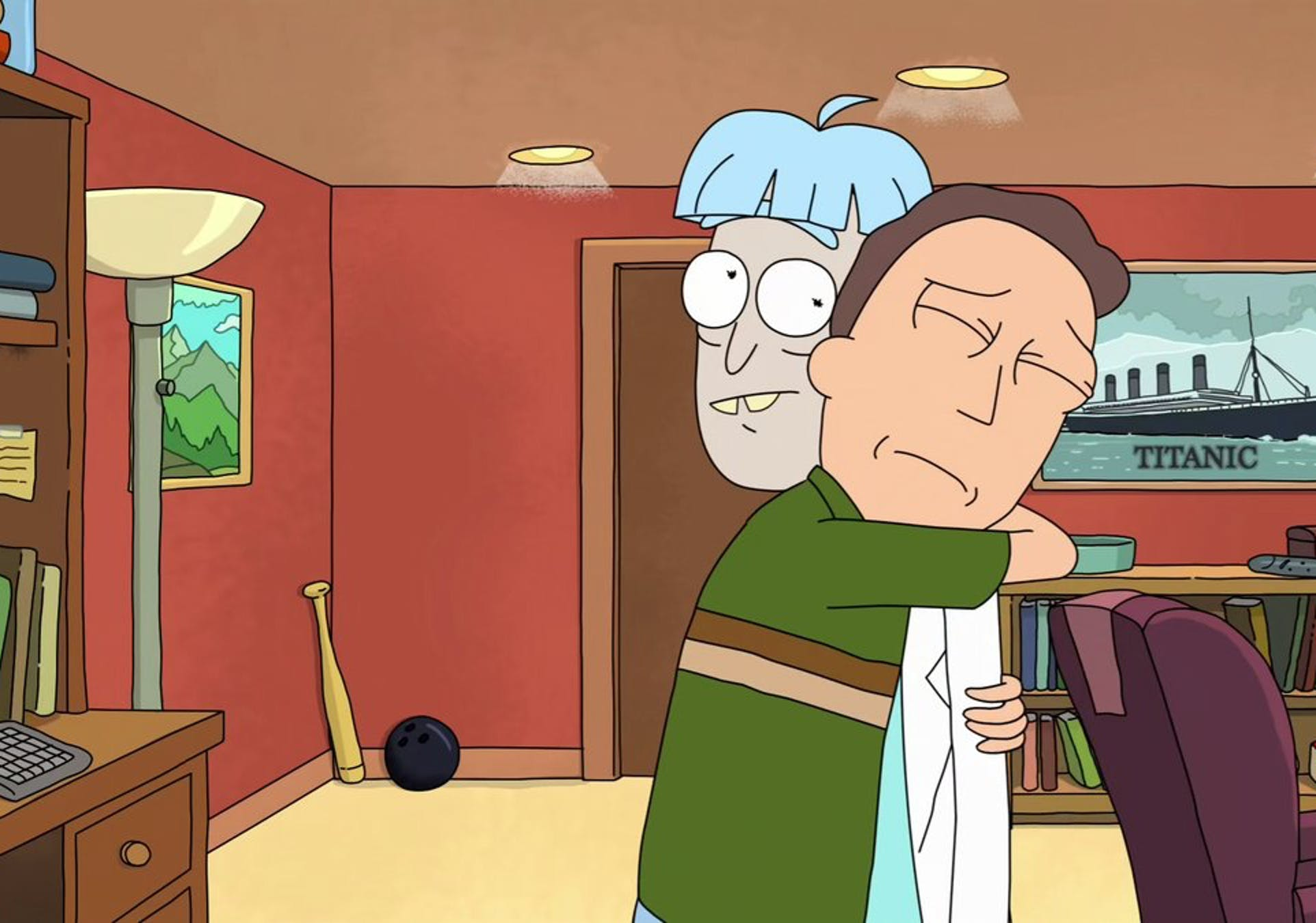 'Rick and Morty' Jerry and Doofus Rick