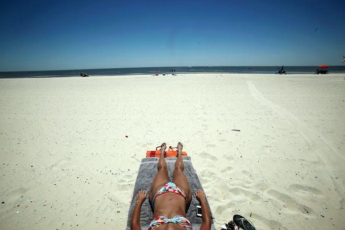 sunbathe bikin suntan tanning summer