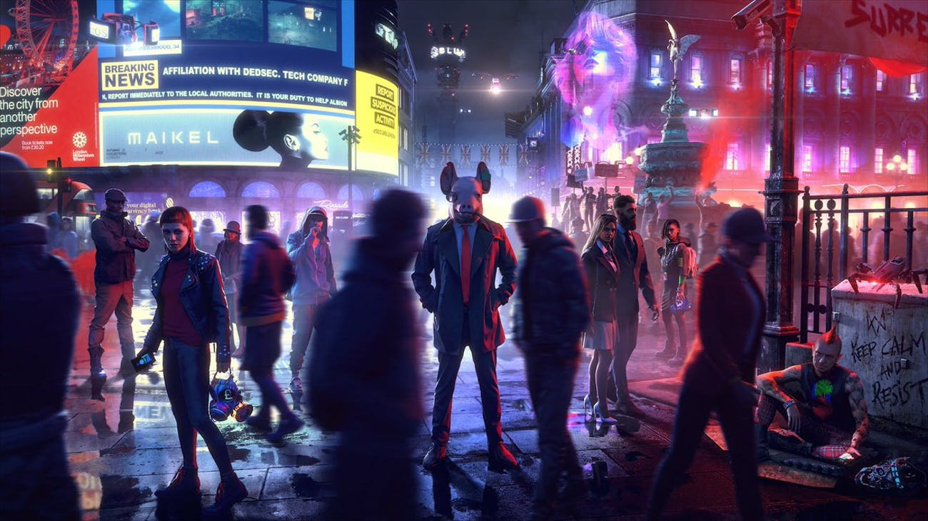 watch dogs legion ubisoft game e3 2019