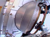 The ISS Just Lost an Important Piece of Shielding