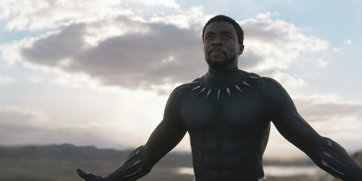 Black Panther necklace in movie