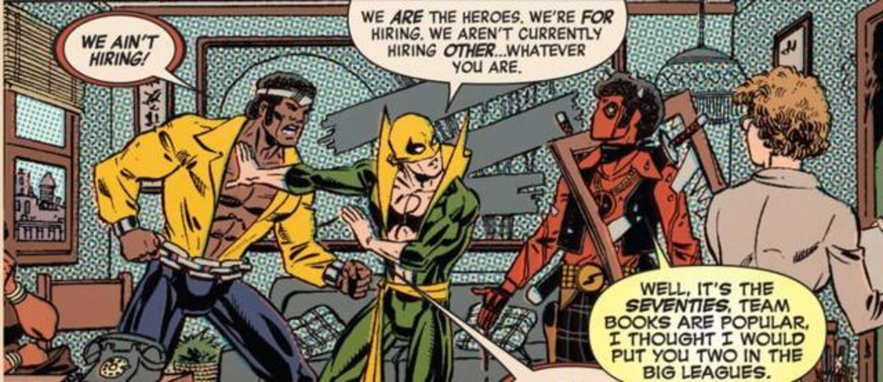 Deadpool Heroes for Hire Iron Fist Luke Cage