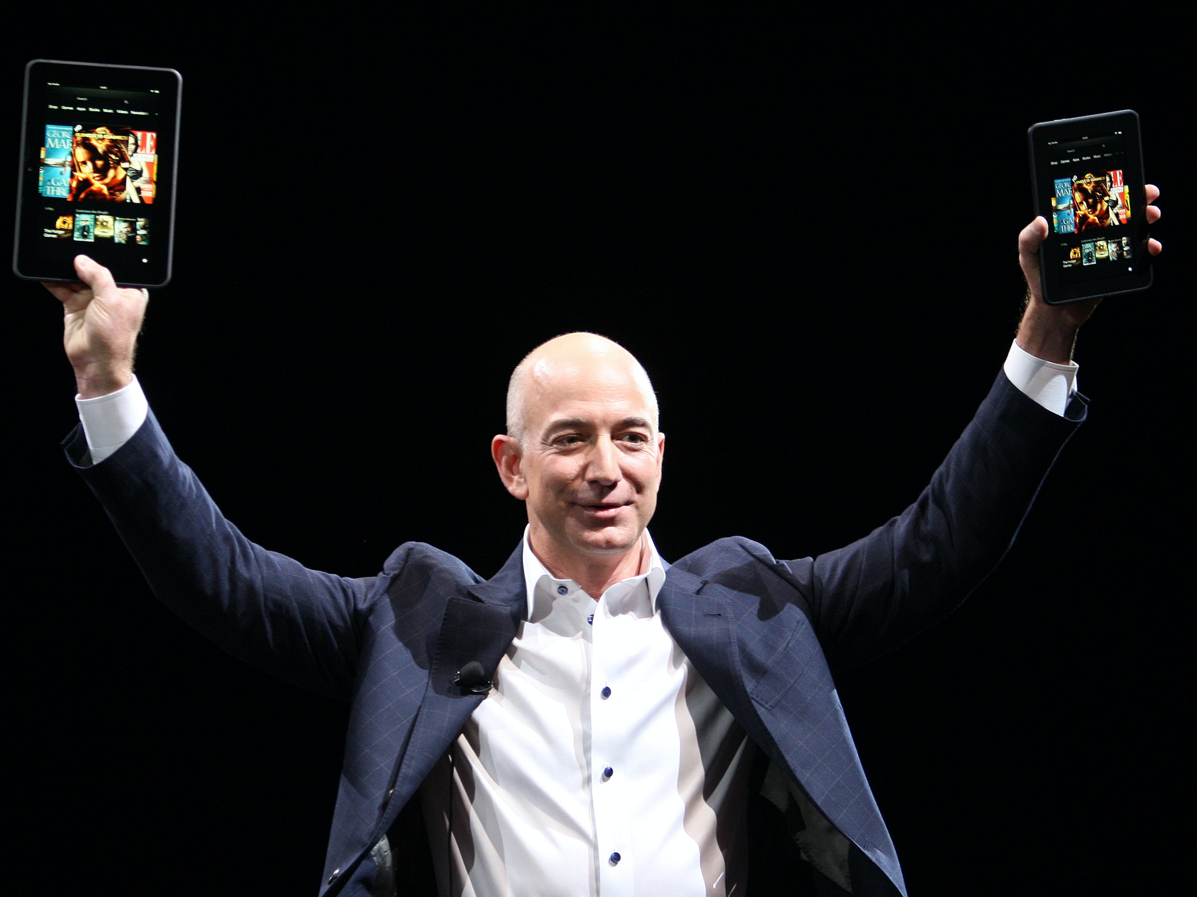 Jeff Bezos appeared on Morning Talk shows to discuss Blue Origin