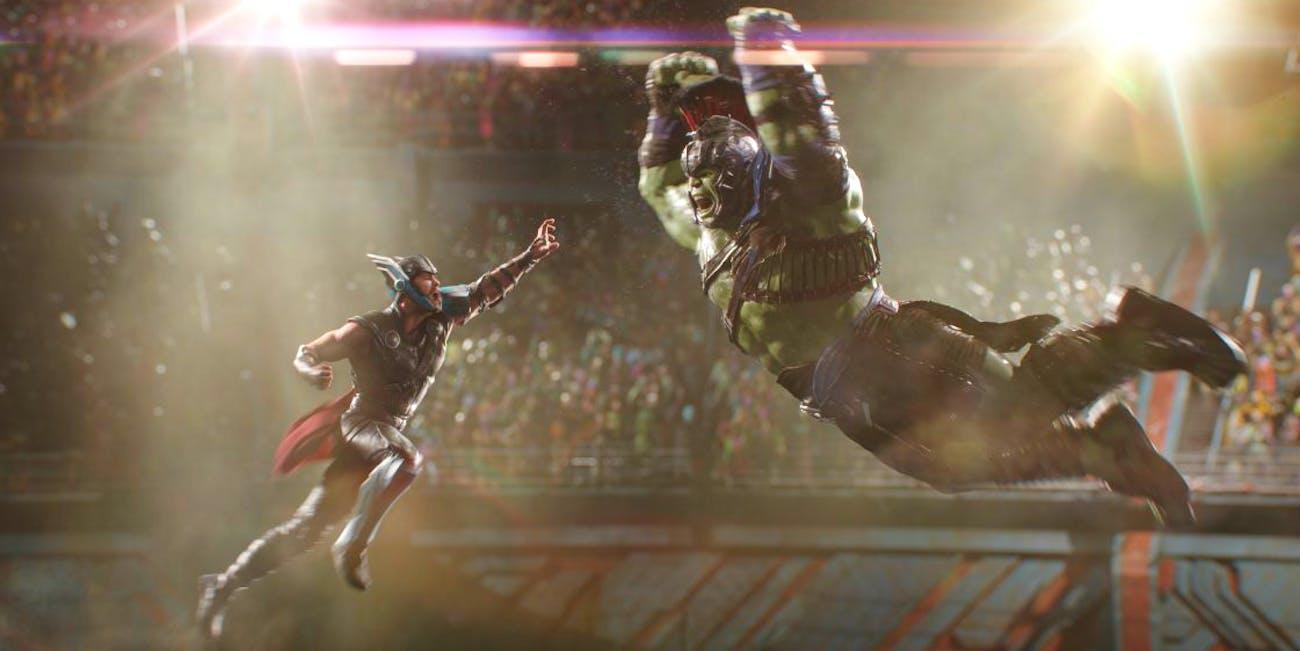 Thor vs. Hulk -- 'Thor: Ragnarok'