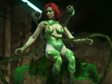 Watch Poison Ivy Get Brutal in the New 'Injustice 2' Trailer