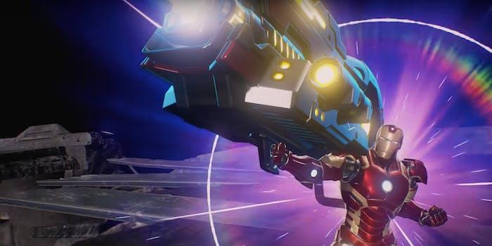 Marvel vs Capcom Iron Man Proton Cannon