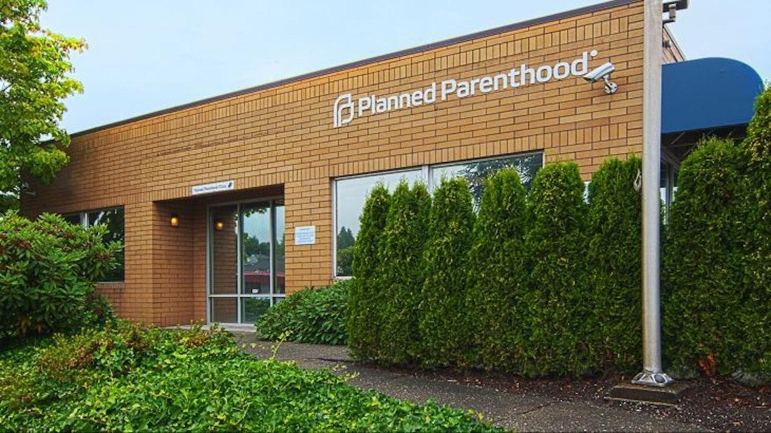 A Planned Parenthood resources center.