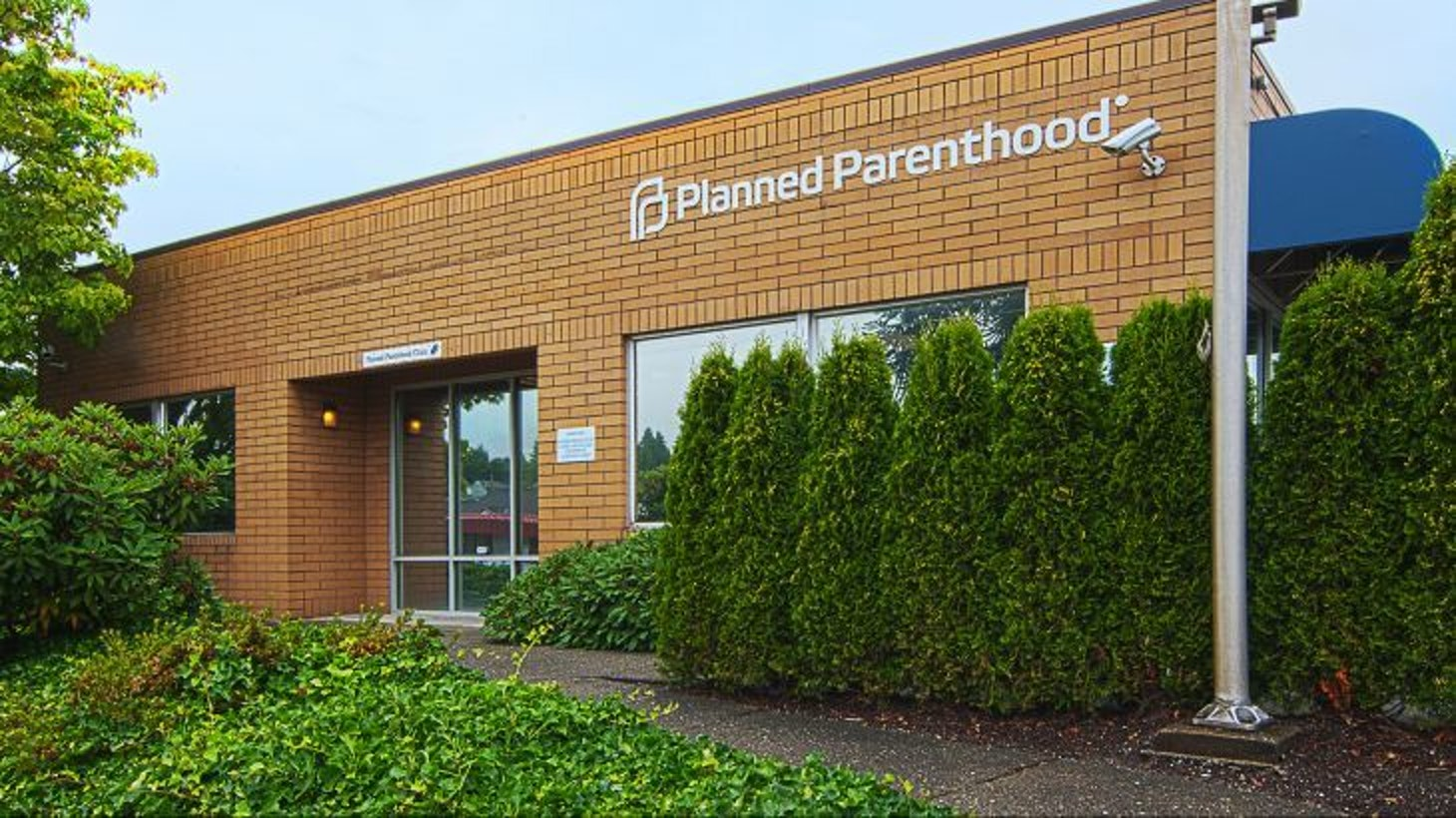 A Planned Parenthood resources center.
