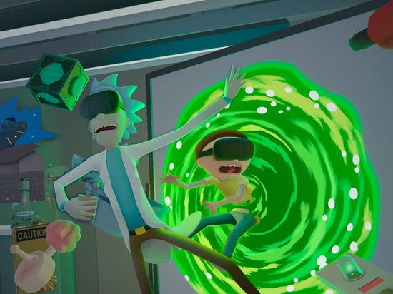 Virtual Reality Is the Perfect Medium for 'Rick and Morty'