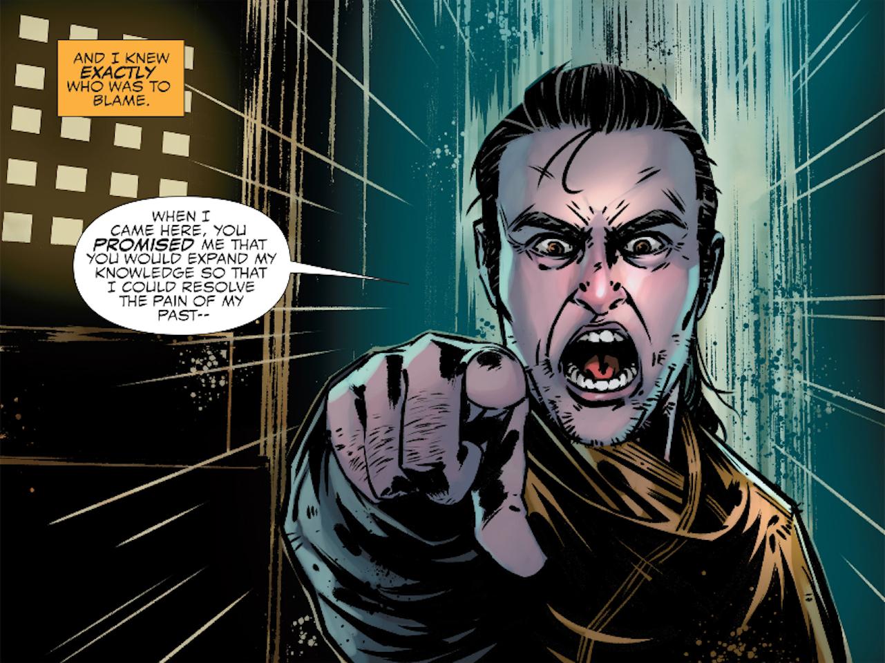Kaecilius in Marvel's Doctor Strange Prelude Comics