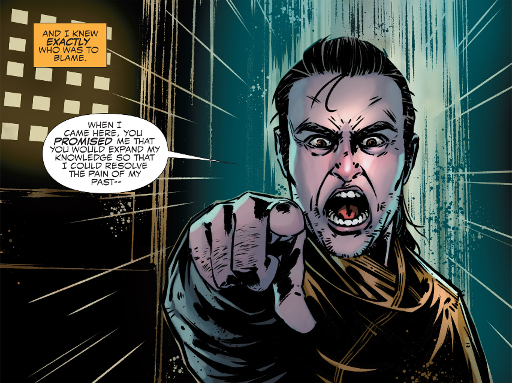Kaecilius in Marvel's Doctor Strange Prelude Comics