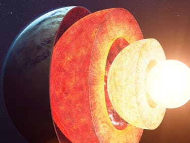 Giant Lava Lamp Inside Earth Causes Magnetic Field Reversal