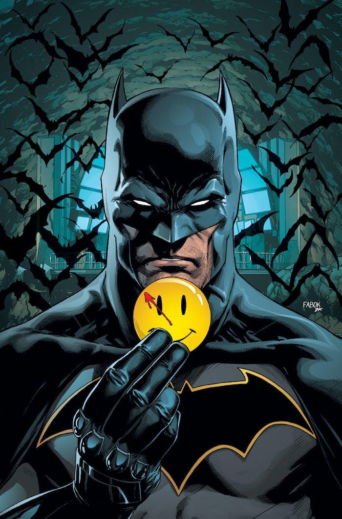 Batman Rebirth The Flash Watchmen