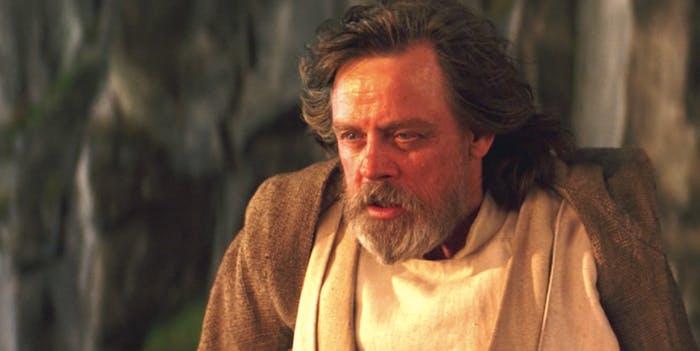 Luke Skywalker looks way cooler as a Force Ghost in 'The Last Jedi'.
