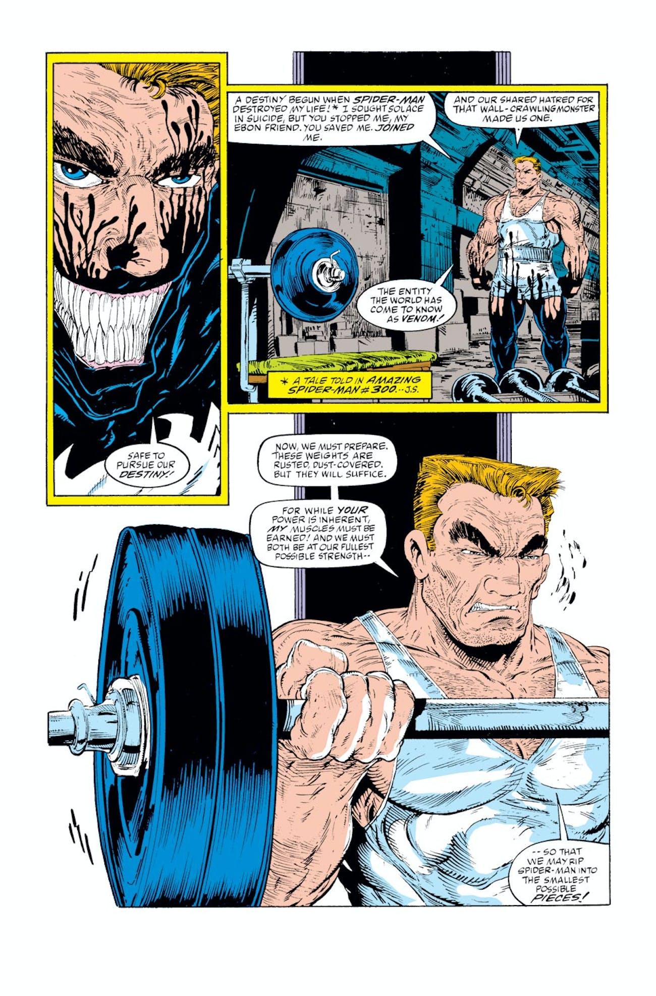 Spider-Man Venom Eddie Brock