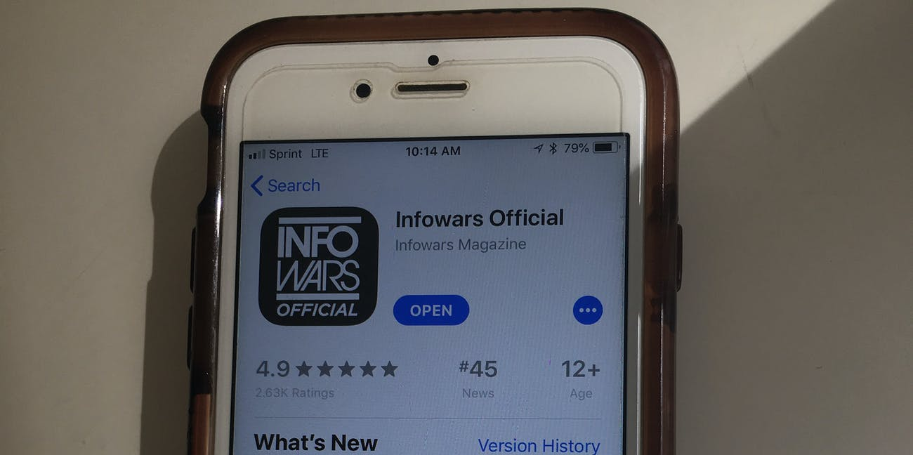 InfoWars apps