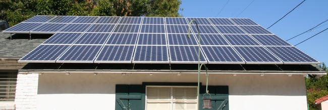 Solar Panels All Done!