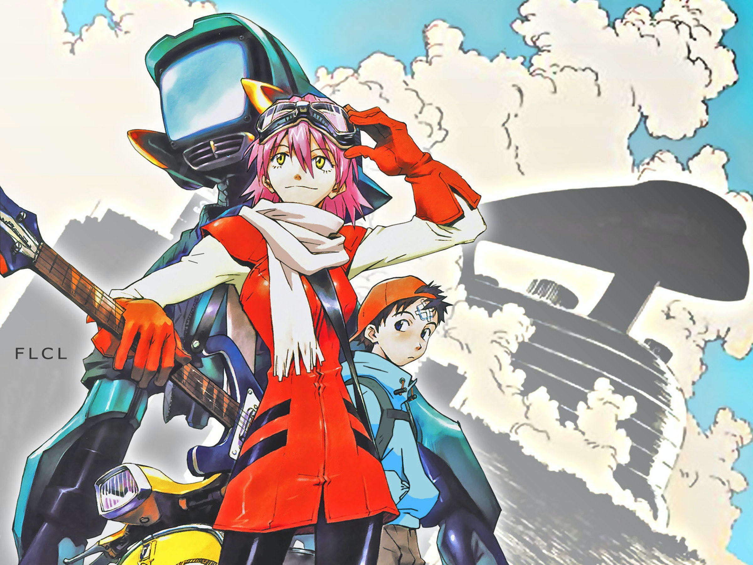 The Adult Swim 'FLCL' is Coming; Here's What To Expect