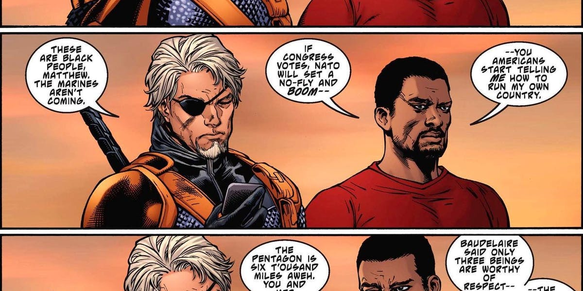 Deathstroke Christopher Priest DC