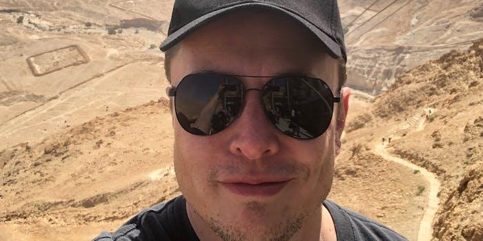 Tesla CEO Elon Musk in Israel