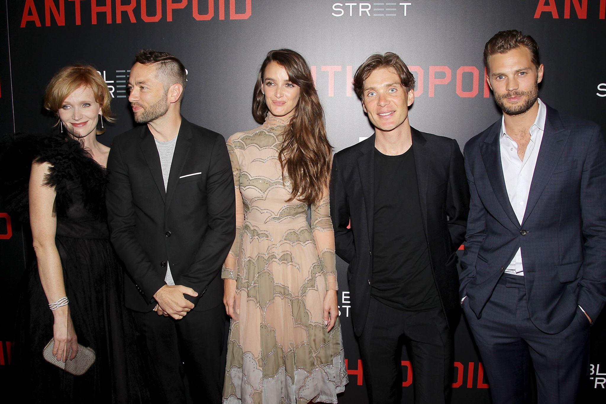 Ana Geislerova, director Sean Ellis, Charlotte Le Bon, Cillian Murphy, and Jamie Dornan.