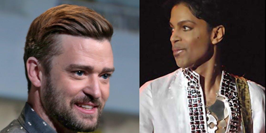 Prince and Justin Timberlake