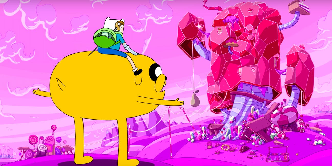 Adventure Time Elements Candy Treehouse