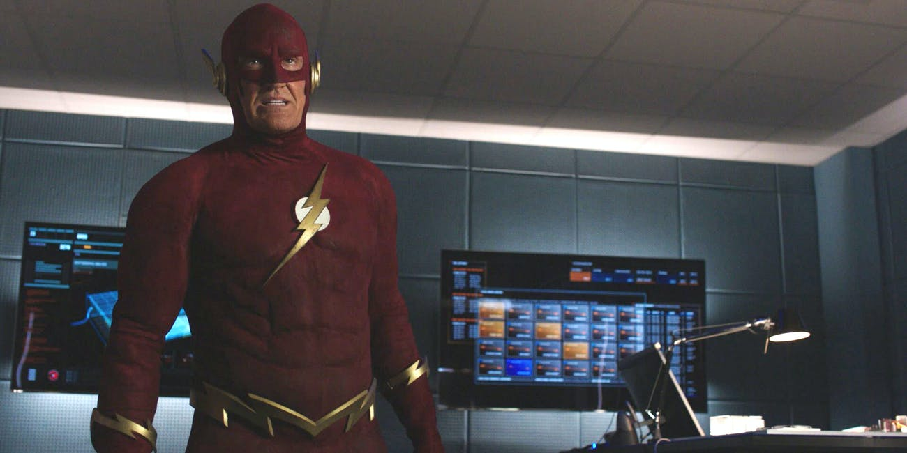 John Wesley Shipp Flash Arrowverse Crossover