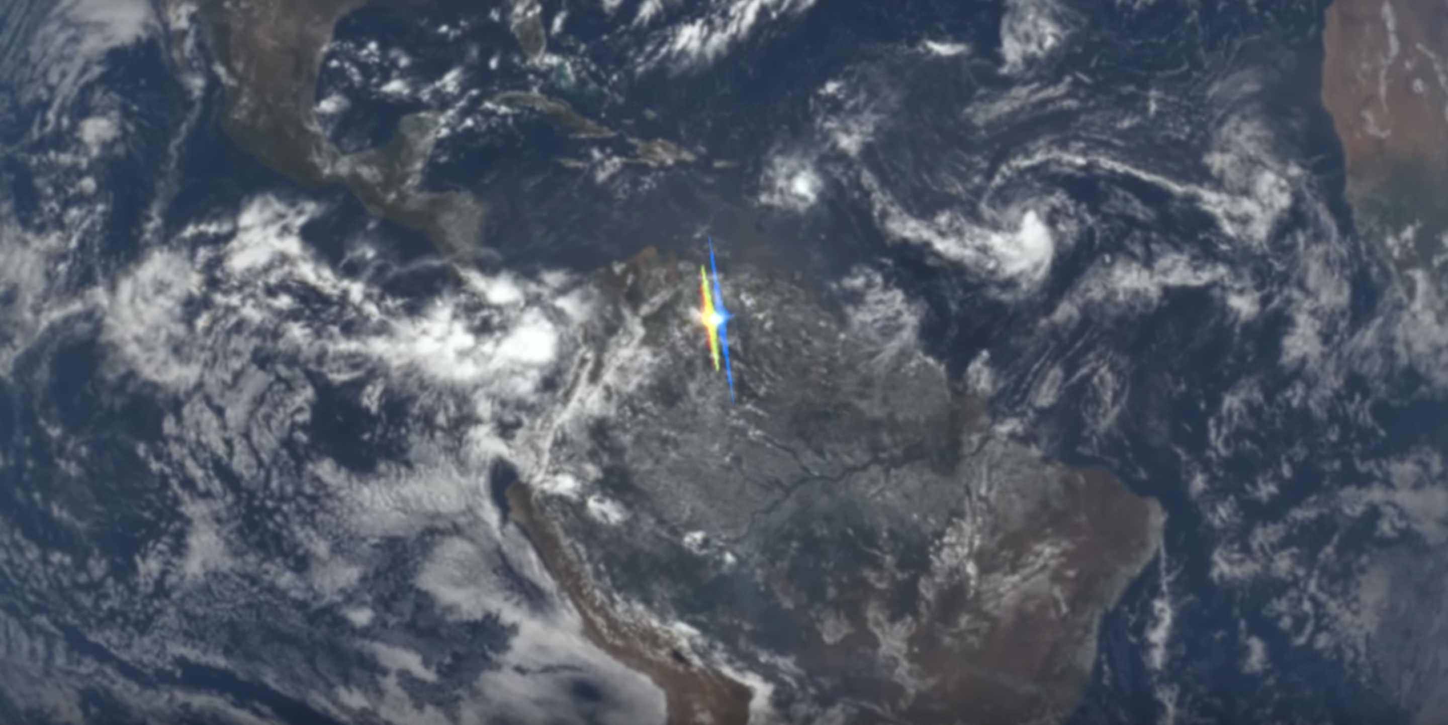 NASA Notices Unexpected Flashes of Light Reflecting Off Earth