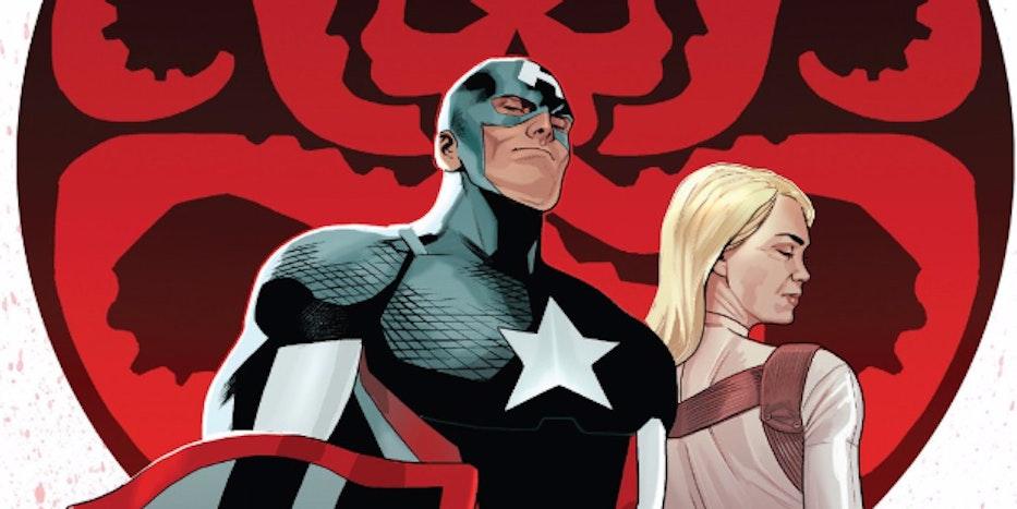 Cover for 'Steve Rogers: Captain America' #10
