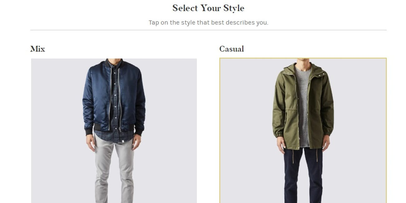 Select your style at Menlo House