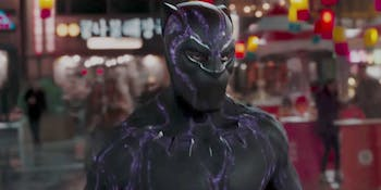 Those purple lines across the new suit serve a special purpose.