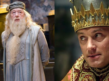 Jude Law to Play Johnny Depp's Lover Dumbledore in 'Fantastic Beasts 2'