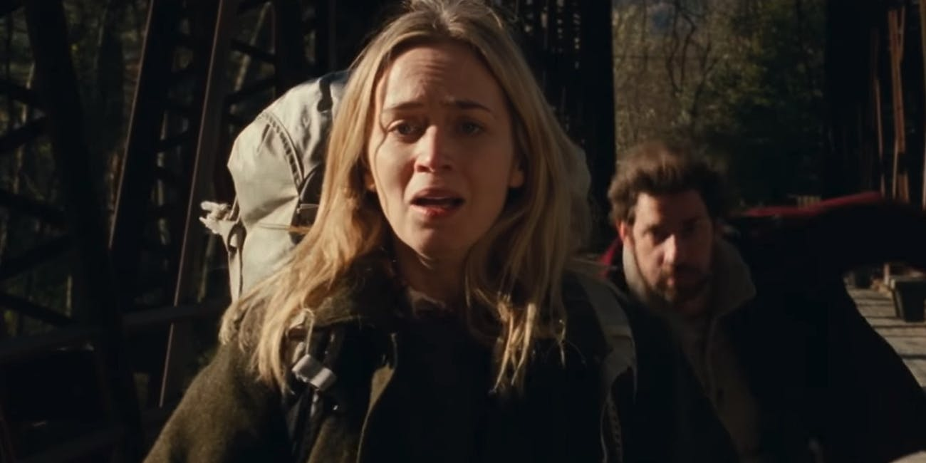 Emily Blunt Co Stars In A Quiet Place Alongside Her Real Life