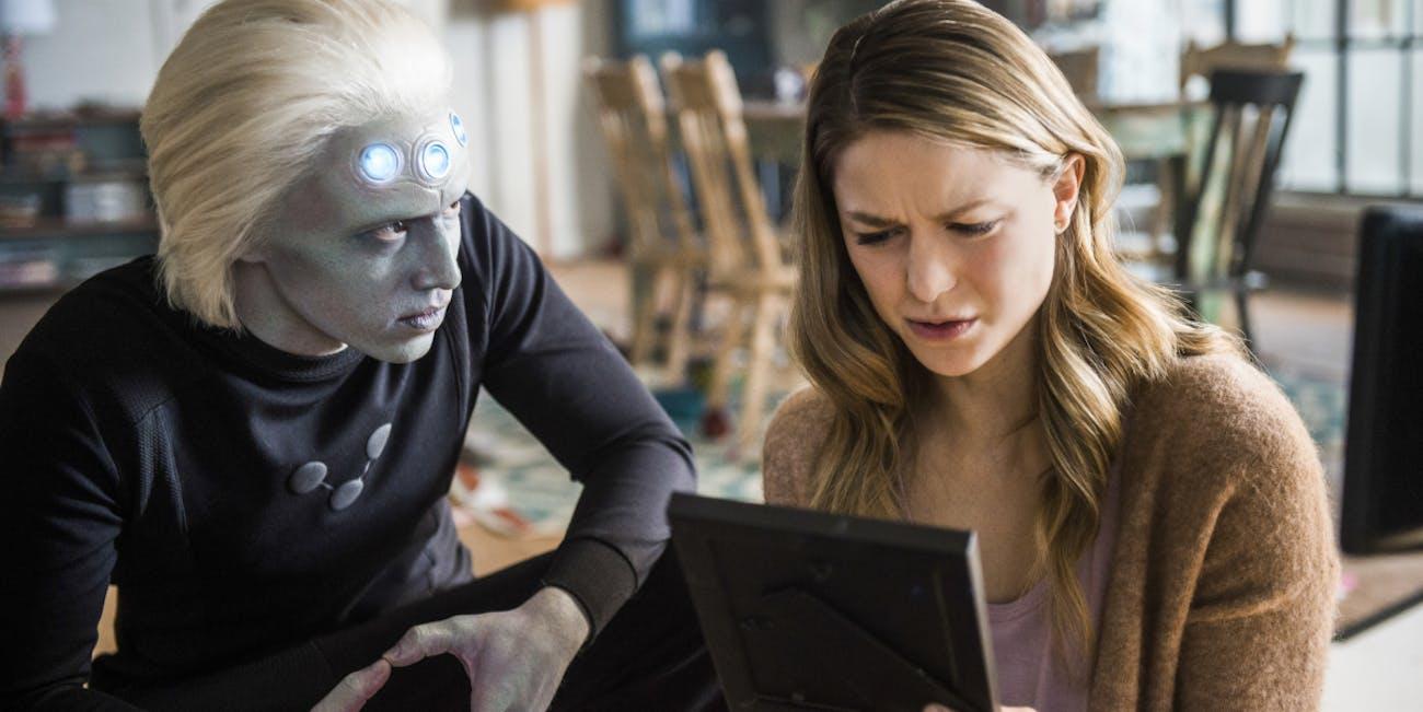 Supergirl Season 3 Brainiac 5