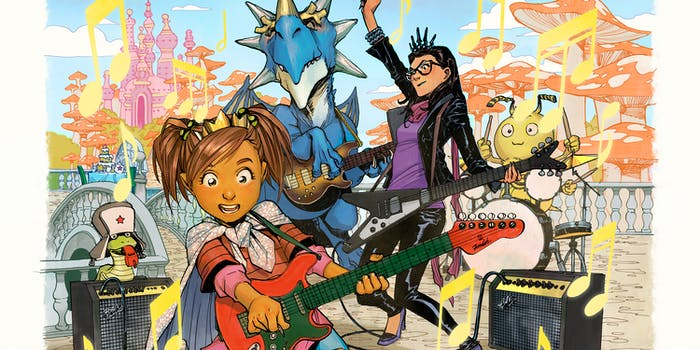 Greg Pak Jonathan Coulton The Princess Who Saved Her Friends