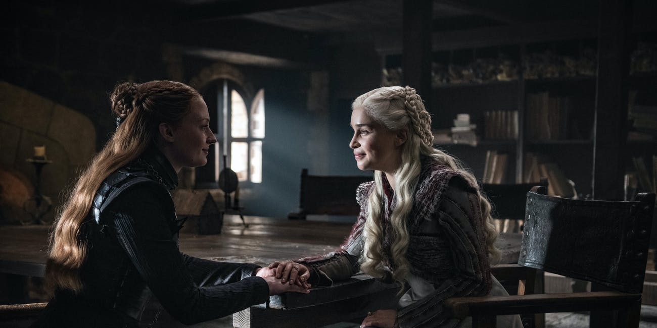 Sansa and Dany