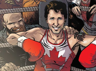 Justin Trudeau Joins the MCU, Has Issues with Captain Marvel