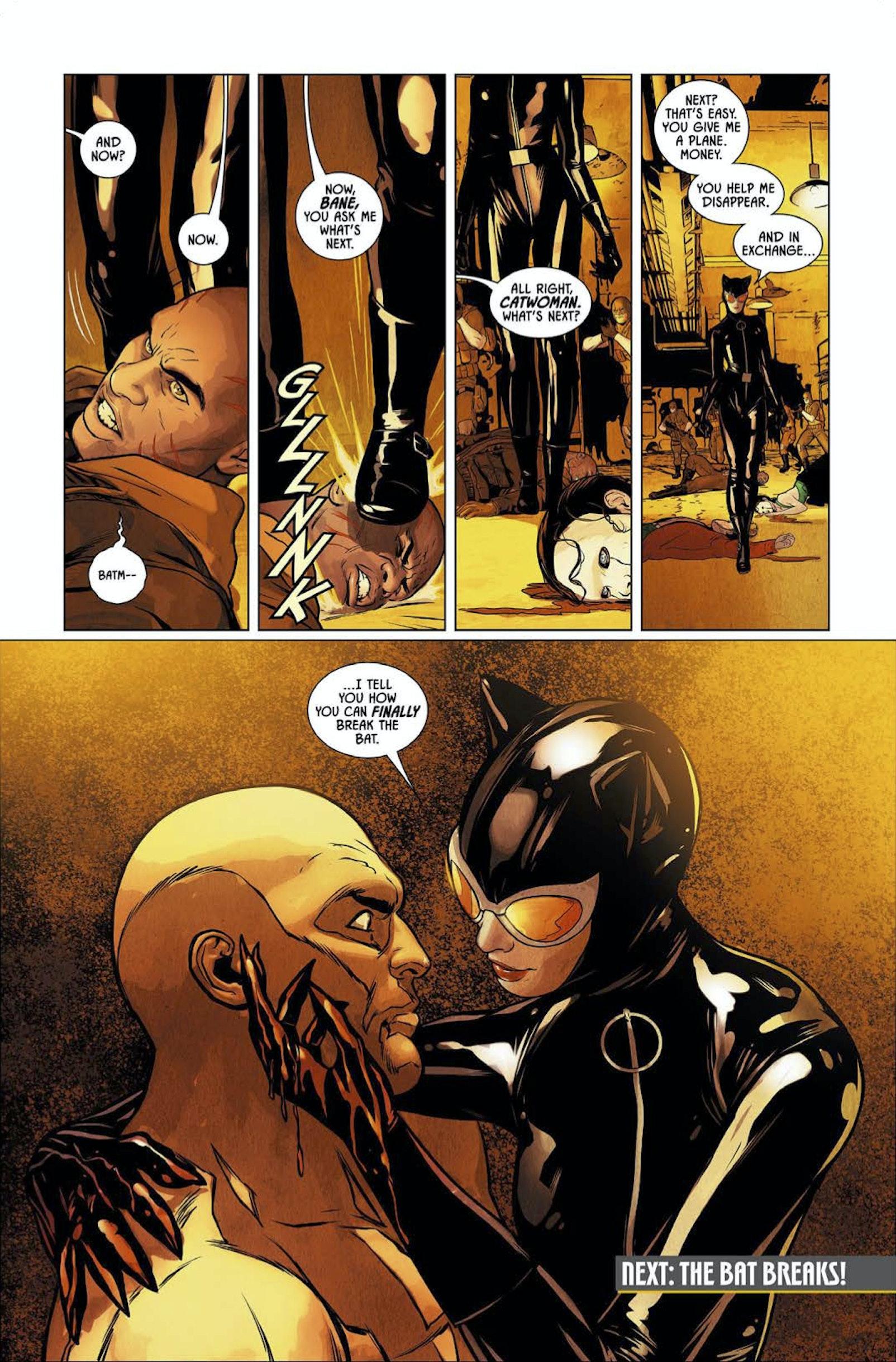 Batman Tom King Catwoman Bane