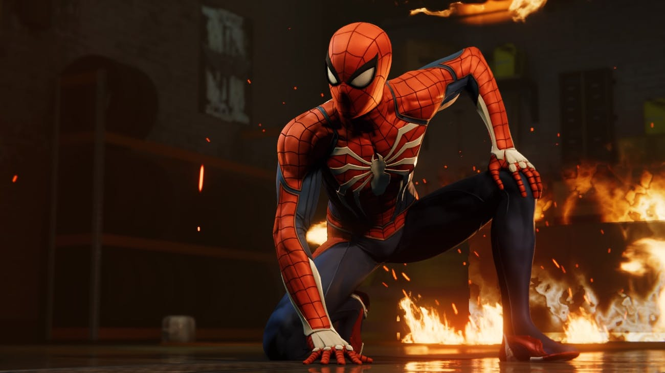 'Spider-Man' PS4 Fire