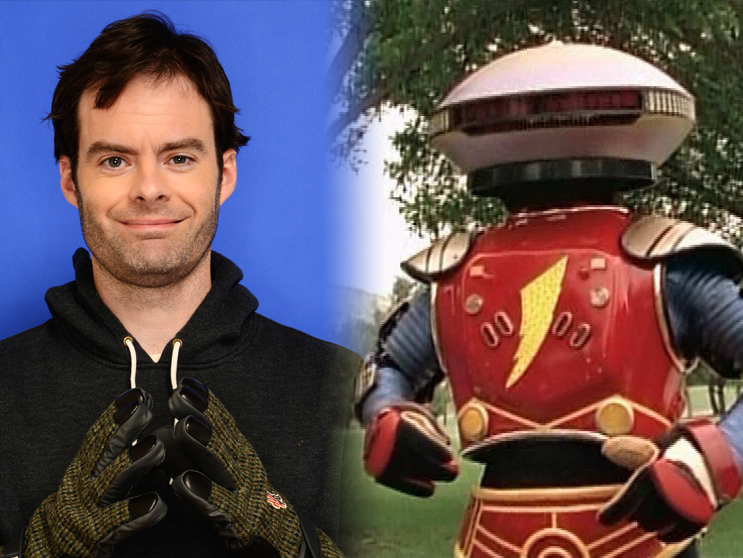 Bill Hader Will Bring Comedy to 'Power Rangers' Movie as Alpha 5
