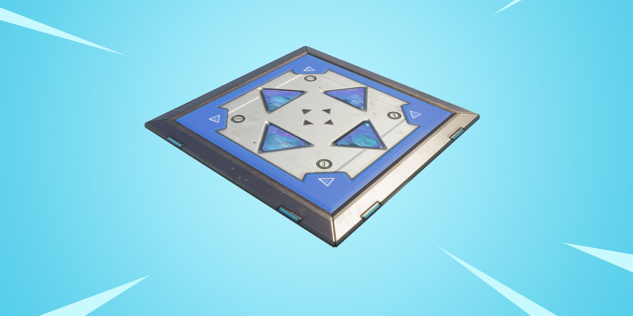 The Bouncer trap pad has returned to 'Fortnite: Battle Royale'.