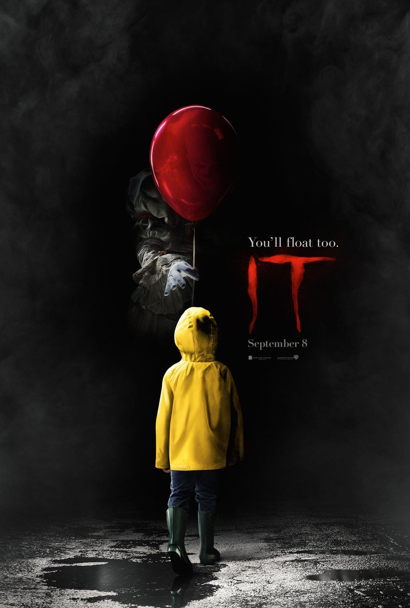 The 'It' poster was released Tuesday with the trailer expected Wednesday.